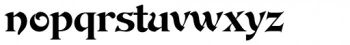 DeVinne Font LOWERCASE
