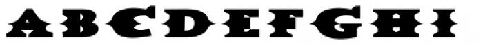 Dead Mule Grande Font UPPERCASE