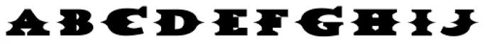 Dead Mule Grande Font LOWERCASE