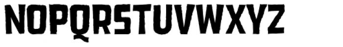 Dead Zone Medium Font UPPERCASE