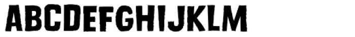 Dead Zone Medium Font LOWERCASE