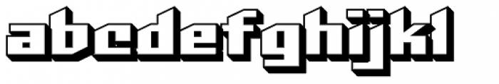 Deadline Doom Open Font LOWERCASE