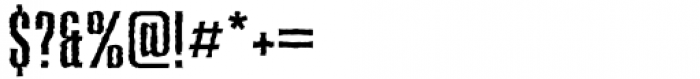 Deaffont Regular Font OTHER CHARS