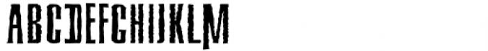 Deaffont Regular Font UPPERCASE