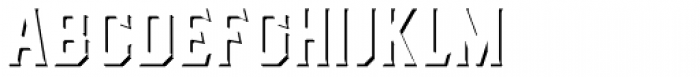 Dealers Shadows Font LOWERCASE
