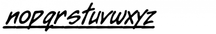 Dear Diary Totally Font LOWERCASE