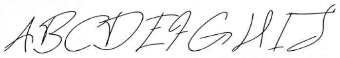 Dear Nathan Regular Font UPPERCASE