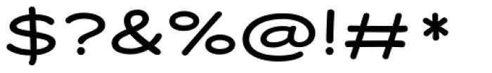 Dear Sans Wide Font OTHER CHARS