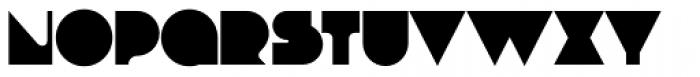Debacle Bold Font UPPERCASE