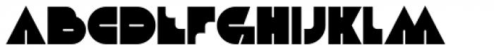 Debacle Font LOWERCASE
