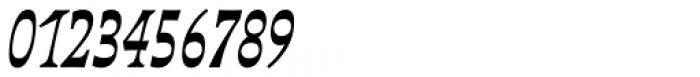 Deberny Line Narrow Bold Italic Font OTHER CHARS