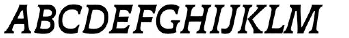 Deberny Text Bold Italic Font UPPERCASE