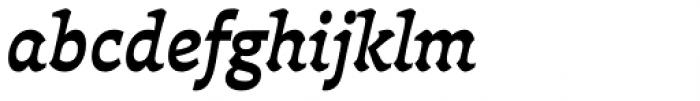 Deberny Text Bold Italic Font LOWERCASE