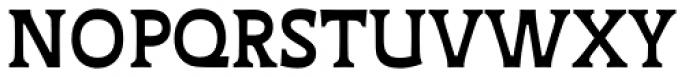 Deberny Text Bold Font UPPERCASE