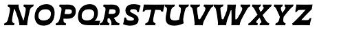 Deberny Text Small Caps Bold Italic Font LOWERCASE