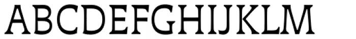 Deberny Text Small Caps Regular Font UPPERCASE