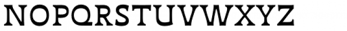 Deberny Text Small Caps Regular Font LOWERCASE