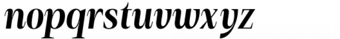 Debira Bold Italic Font LOWERCASE