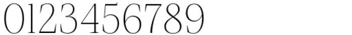Debira ExtraLight Font OTHER CHARS