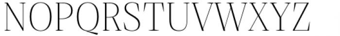 Debira ExtraLight Font UPPERCASE