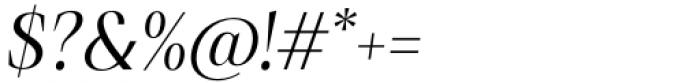 Debira Italic Font OTHER CHARS
