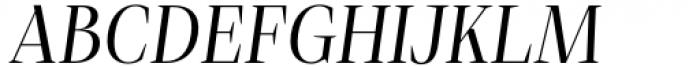 Debira Italic Font UPPERCASE
