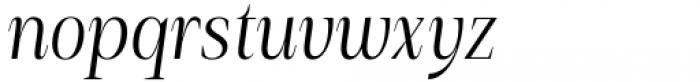Debira Italic Font LOWERCASE