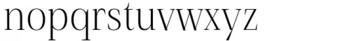 Debira Light Font LOWERCASE