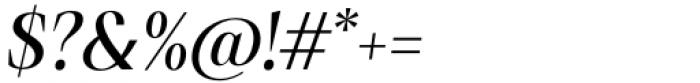 Debira Medium Italic Font OTHER CHARS