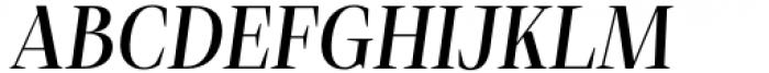 Debira Medium Italic Font UPPERCASE