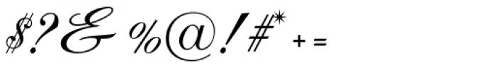Debonair JF Font OTHER CHARS
