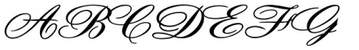 Debonair JF Font UPPERCASE