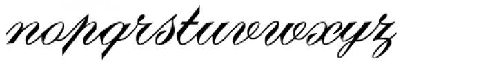 Debonair JF Font LOWERCASE