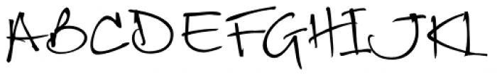 Debs Wide Font UPPERCASE