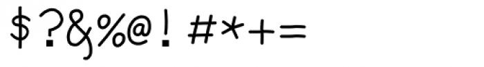 Debug Sharpie Font OTHER CHARS