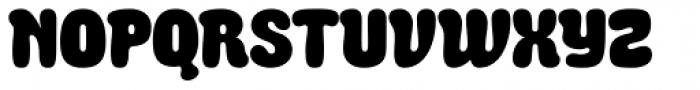 Debusen Font UPPERCASE