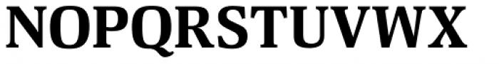 Deca Serif New Black Font UPPERCASE