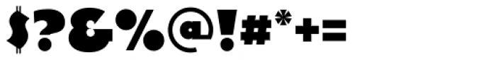 Decade Regular Font OTHER CHARS