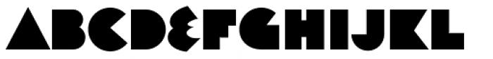 Decade Regular Font LOWERCASE