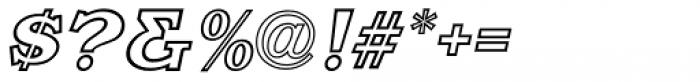 Decalcomania Oblique JNL Font OTHER CHARS