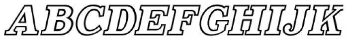 Decalcomania Oblique JNL Font LOWERCASE