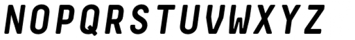 Decima Mono Pro Bold Italic Font UPPERCASE