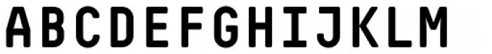 Decima Mono Pro Bold Font UPPERCASE