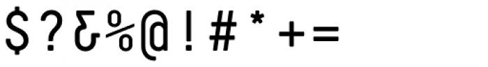 Decima Mono Pro Font OTHER CHARS