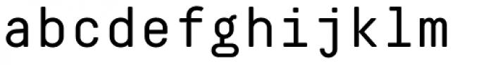 Decima Mono Pro Font LOWERCASE
