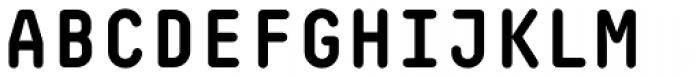 Decima Mono Round Bold Font UPPERCASE