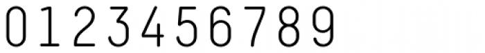 Decima Mono Round Light Font OTHER CHARS