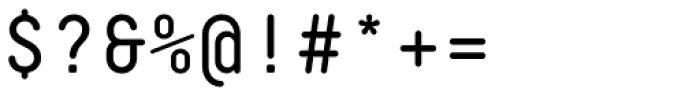 Decima Mono Round Font OTHER CHARS