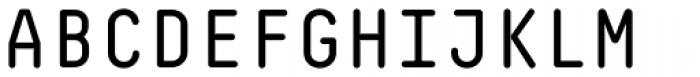 Decima Mono Round Font UPPERCASE