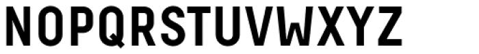 Decima Pro A Bold Font UPPERCASE